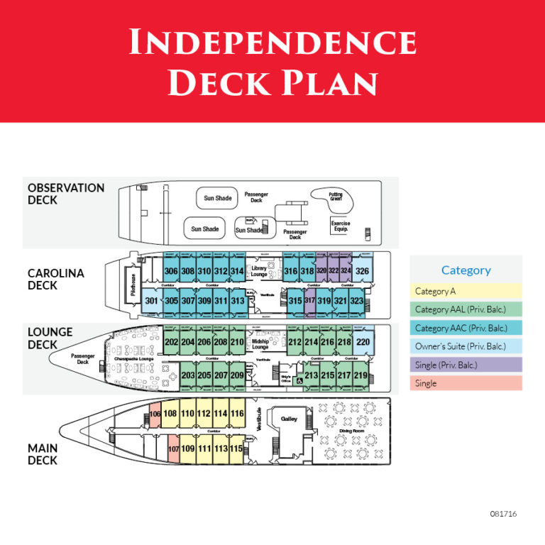 Independence Deck Plans