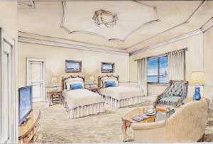 Stateroom 300x203 The Queen of the Mississippi