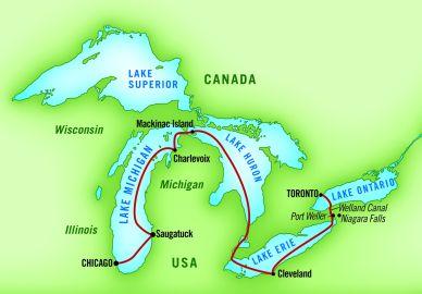 Small Ship Great Lakes Cruises • Usa River Cruises ...