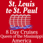 Upper Mississippi River Cruise: St. Louis - St.Paul