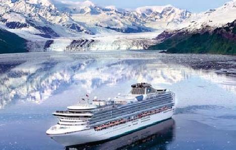 Elegant Alaskan river cruise.