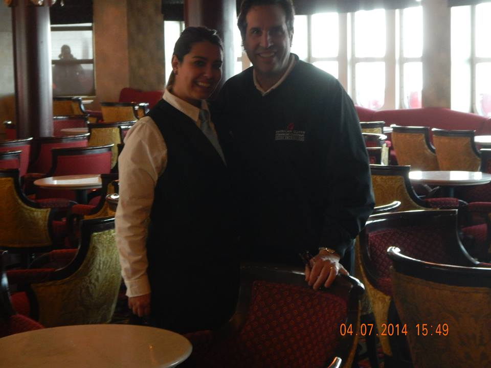 Empress_Jim and Nikki head bartender