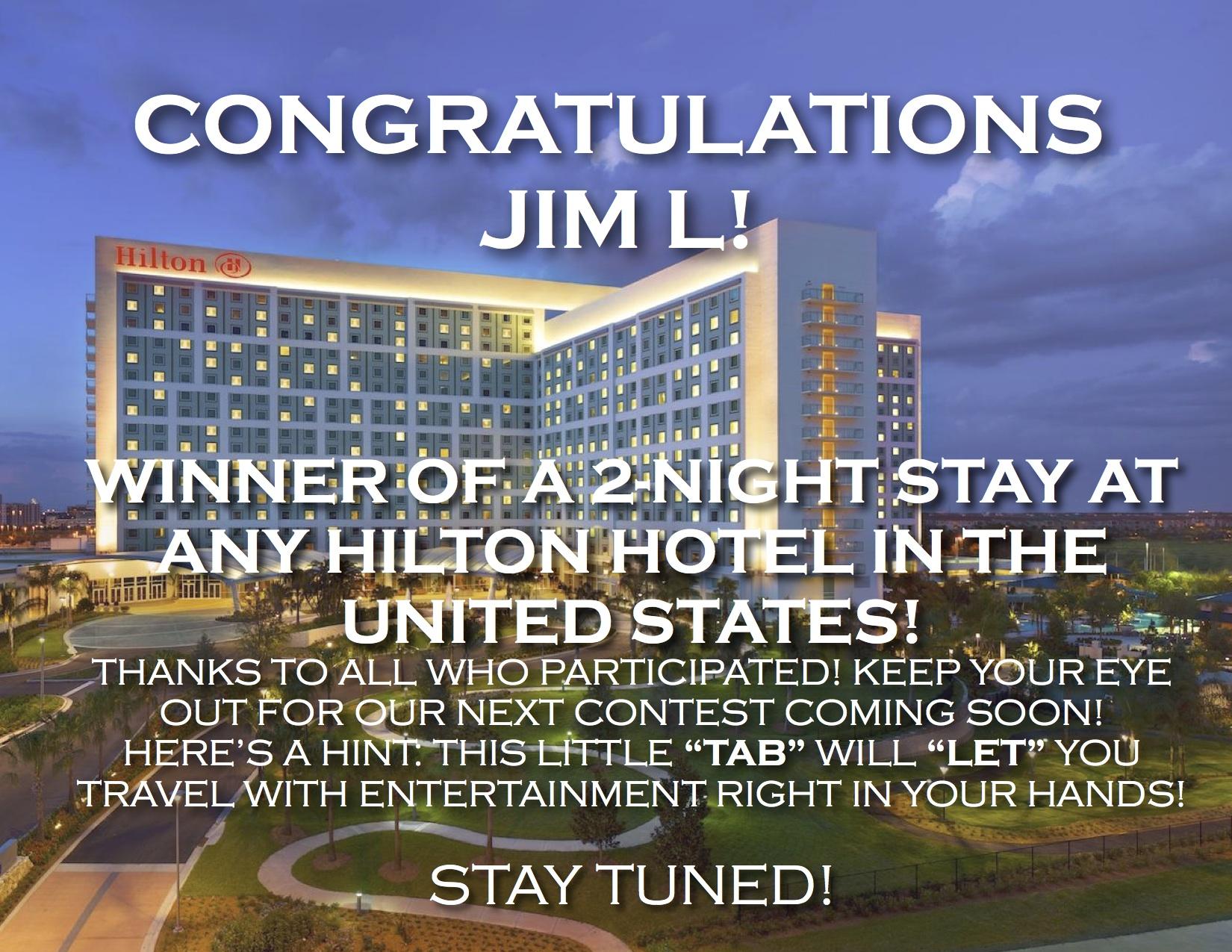 Contest Winner Announcement Usa River Cruises