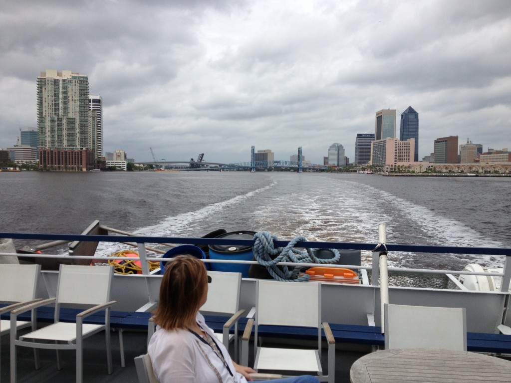 Leaving Jacksonville