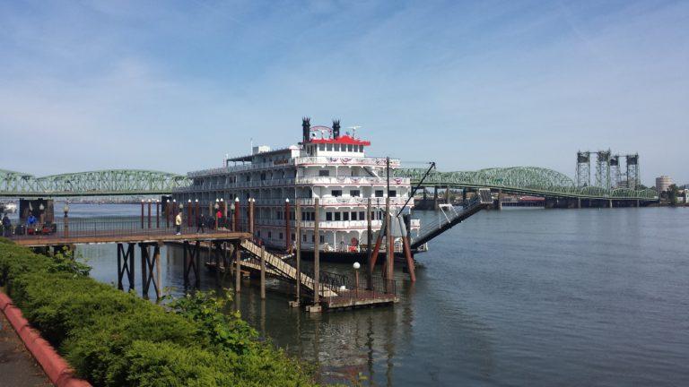 American Pride, docked in Portland, OR