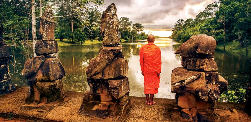 Mekong monk
