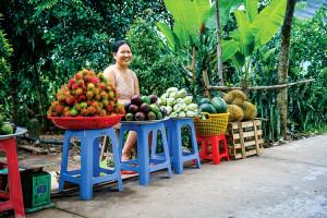 Mekong - rare food