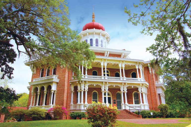 Natchez Longwood Mansion, a highlight on the full Mississippi cruise, the Grand Heartland cruise