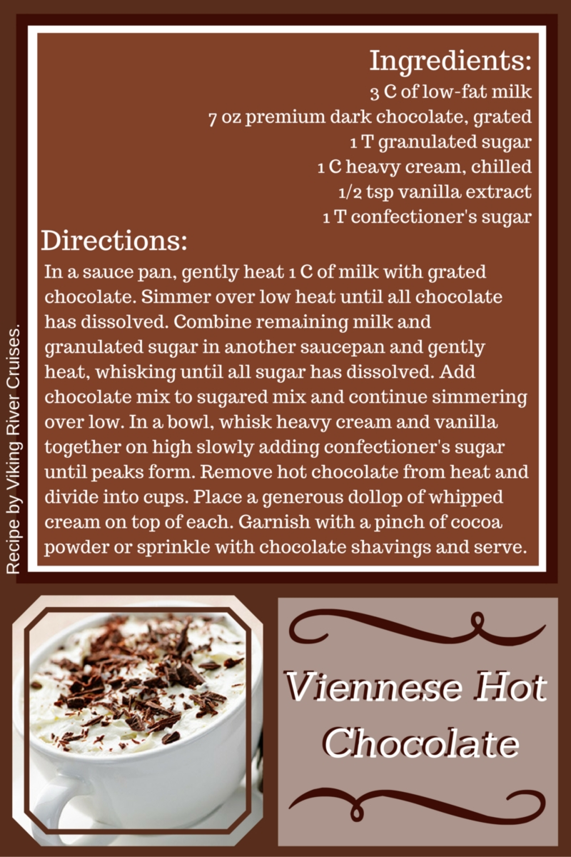 Viennese Hot Chocolate Usa River Cruises