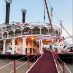 American Queen paddlewheel docked and ready to cruise the Mississippi River. One great Mississippi River Boat.