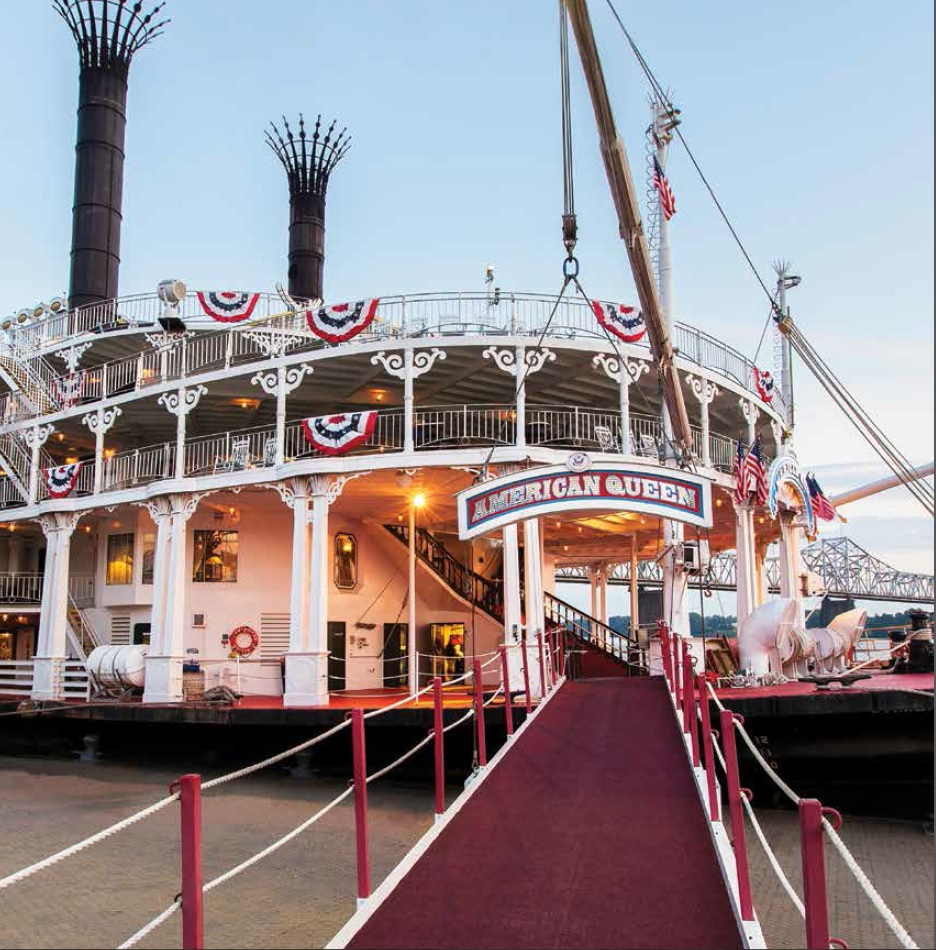 Mississippi River Boats Usa River Cruises Official Site