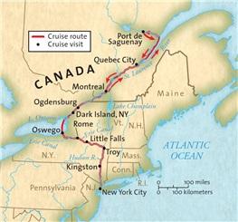 Saguenay Map