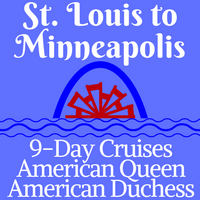St Louis To Minneapolis 9 Day Voyages Usa River