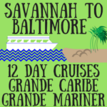 Savannah to Baltimore