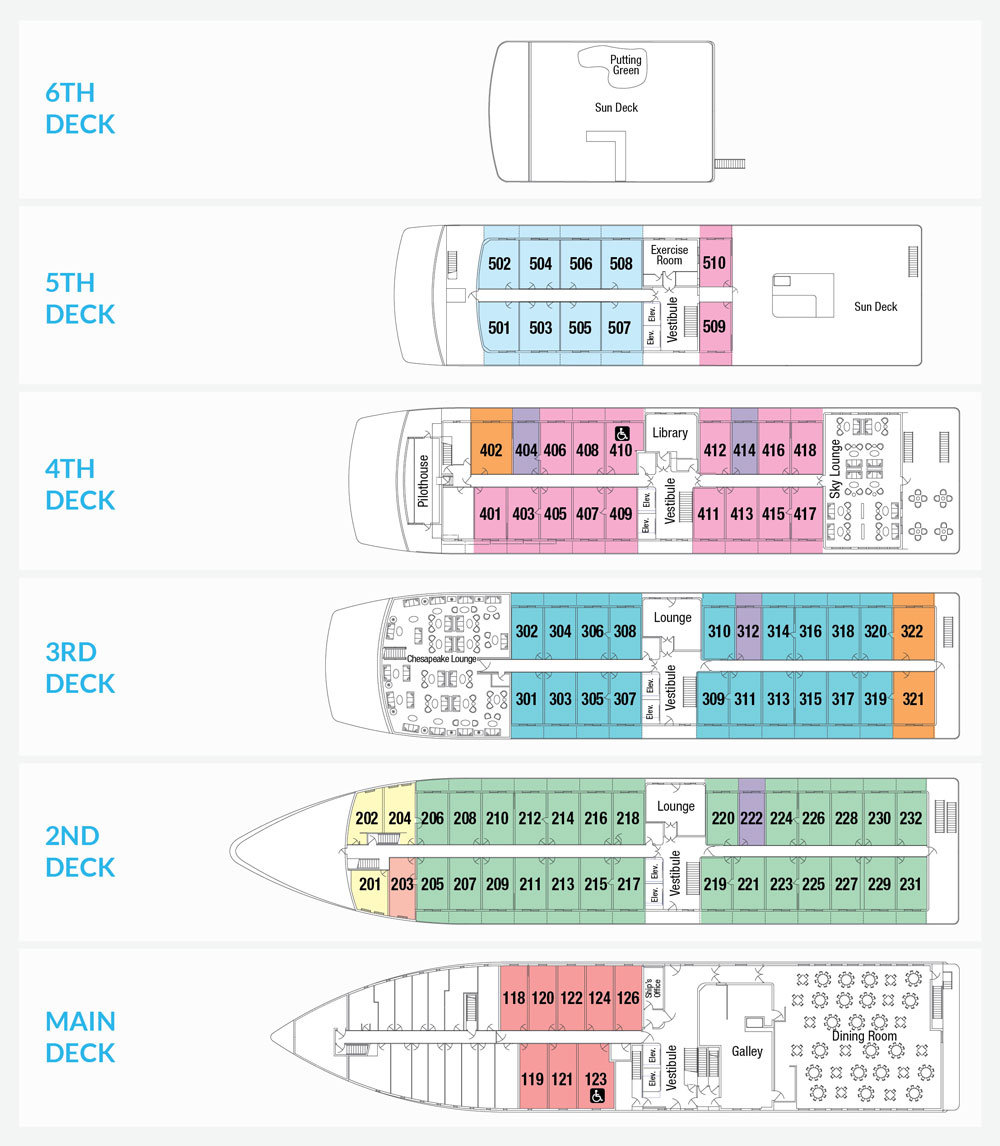 100+ [ Pride Of America Deck Plan ] | Offer Detail Prime ...