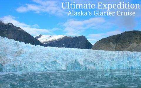 Ultimate Expedition Alaska's Glacier cruise webpage pic