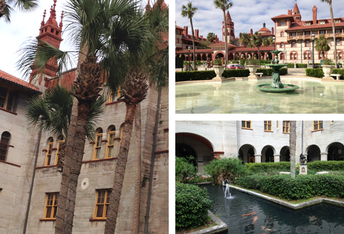 st. augustine, florida is one of the locations you'll see on a florida cruise