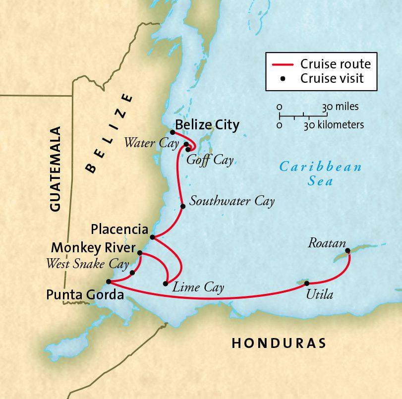 Belize Gua Honduras-19vF