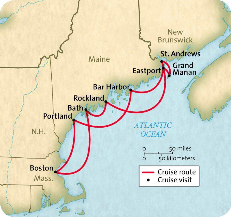Maine & New Brunswick River Cruise