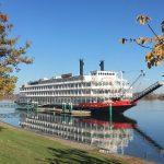 American Empress docked in Richland, WA
