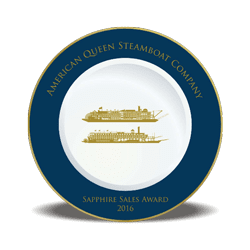 American Queen Steamboat Company Sapphire Award