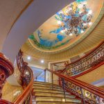 American Queen grand staircase