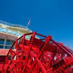 American Queen paddle wheel