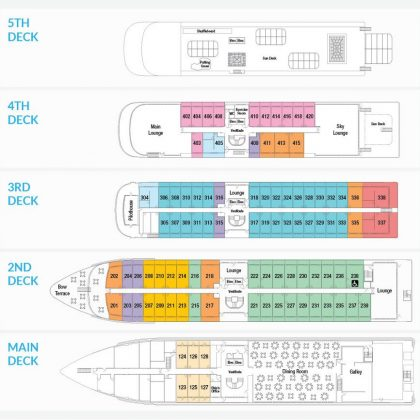 American Song Deck Plan