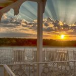 View from the Deck of the American Empress