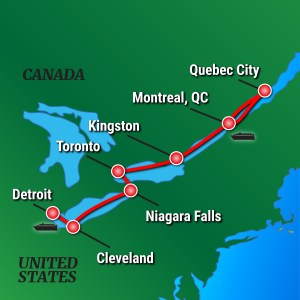 French Canada and Great Lakes Cruise