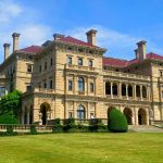 Breakers mansion; Newport; R.I.