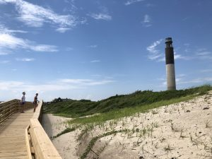 North Carolina: Oak Island Lighthouse