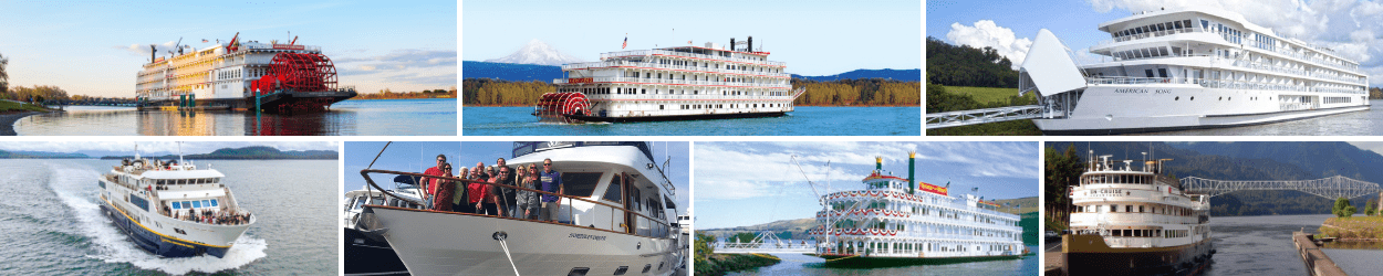 columbia river cruise ships american empress american pride american song national geographic quest northern dream queen of the west s.s. legacy