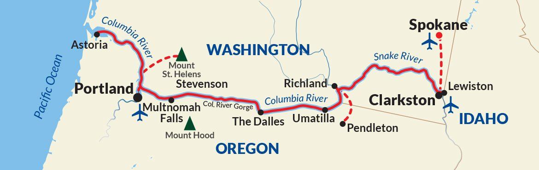 Columbia Snake Rivers Cruise USA River Cruises - Usa river cruises