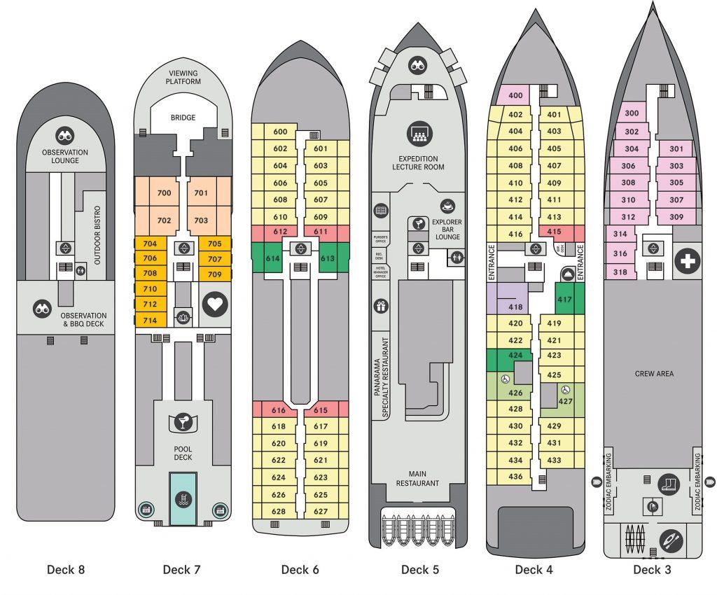 Ocean Victory Deckplan