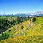 amtrak-014-11 Location: East of East Glacier at Two Medicine trestle