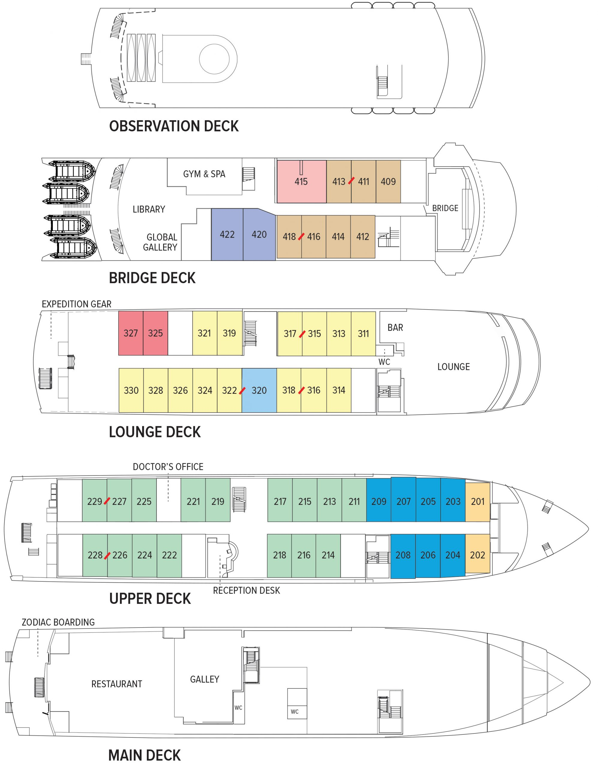 Endeavour II Deck Plan August 1_2016