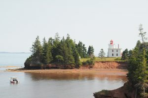 charlottetown harbour rocky point lighthouse prince edward island canada canadian maritimes