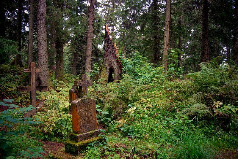 russian cemetery in sitka alaska