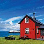 Atlantic Ocean, Iceland, Flatey Island