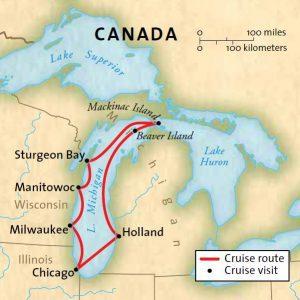 Magical Lake Michigan Usa River Cruises