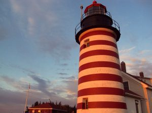Maine: West Quoddy Head Lighthouse