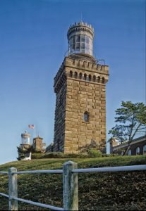 New Jersey: Twin Lights Lighthouse