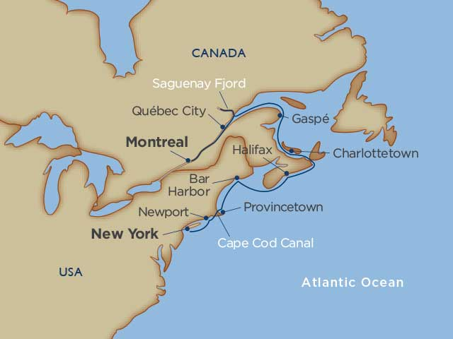 Maritimes & Manhattan River Cruise