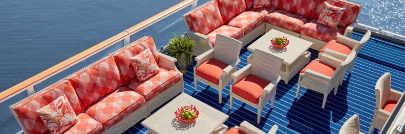 America Cruise Ship Chairs & Tables
