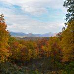Smoky Mountain National Park fall colors