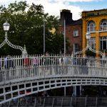 Ha'penny Bridge in Ireland