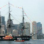 USS Constitution in Boston