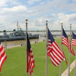 USS Kidd in Baton Rouge