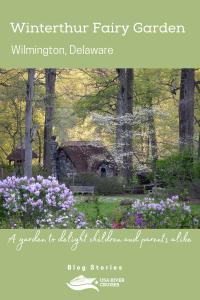winterthur fairy garden in wilmington delaware